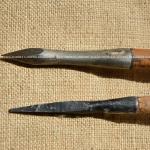 Ricostruzione di dardi da balestra in ferro forgiato (IMAGO ANTIQUA)