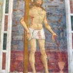 Cristo della Domenica, 1490 c., affresco presso il Santuario dell'Icona-Passatora (S. Maria-delle Grazie), Loc. Ferrazza di Amatrice. prov. Rieti (fonte: Andrea Carloni, Flickr)