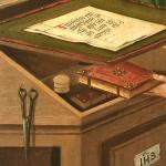 """Gabriel Malasskircher, """"S. Matteo Evangelista"""", 1478; Museo Thysson-Bornemisza, Madrid (fonte: www.museothyssen.org)"""