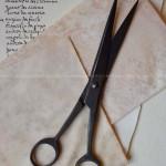 Replica di forbici da scriba