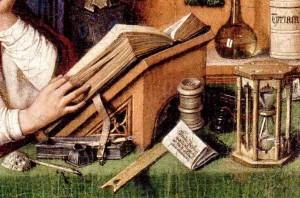 "VAN EYCK, ""San Girolamo nel suo studio"", 1435c (Detroit Institute)"