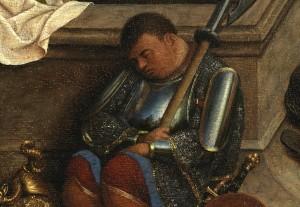 HUBERT VAN EYCK, Le tre Marie al sepolcro, 1430-1435 c., Museum Boymans Van Beuningen, Rotterdam